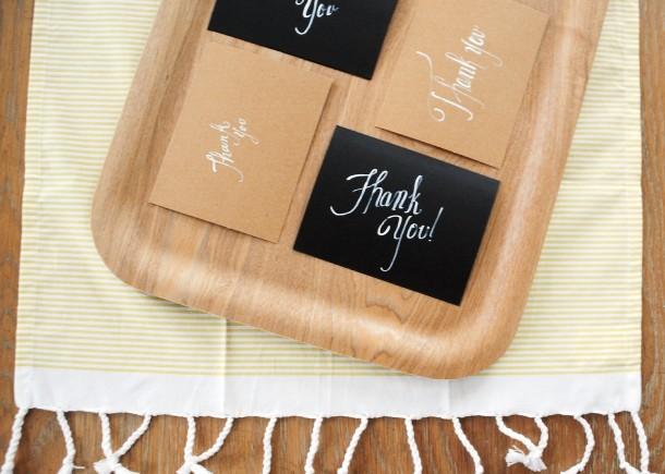 hand written thank you - 3