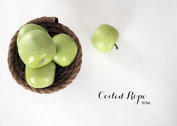 coiled rope bowl - house of earnest