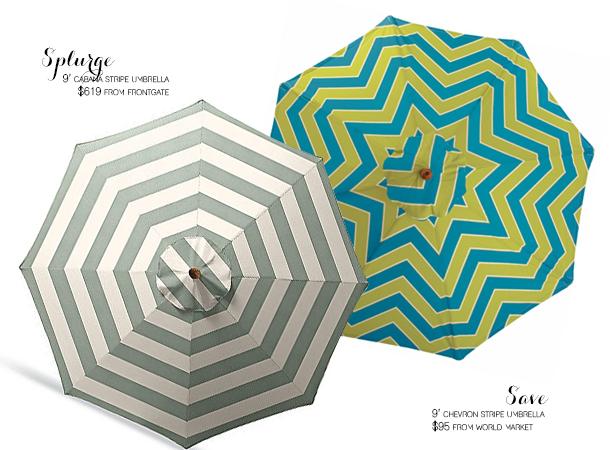 splurge or save umbrella