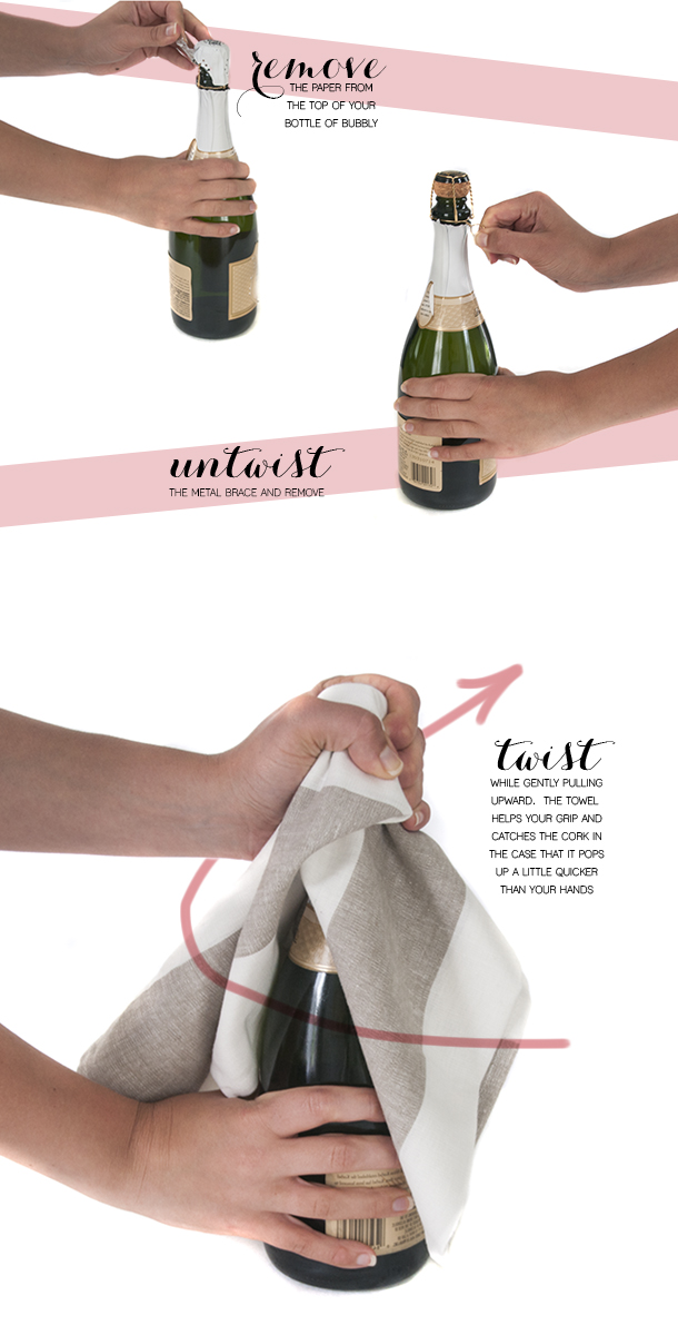 champagne how to