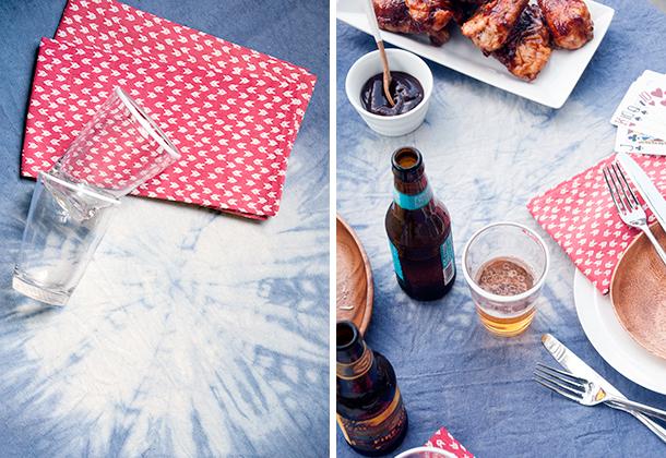 firework tablecloth