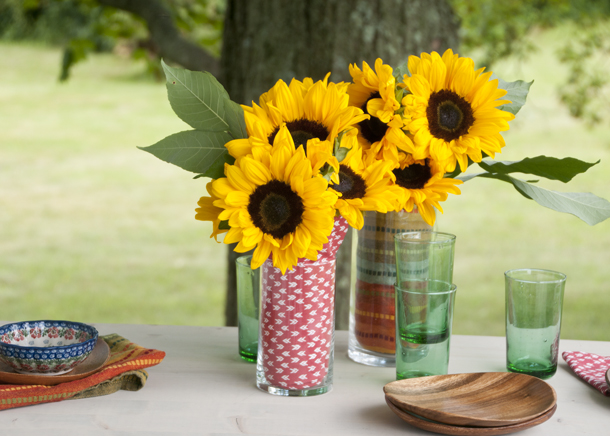quick party vase idea