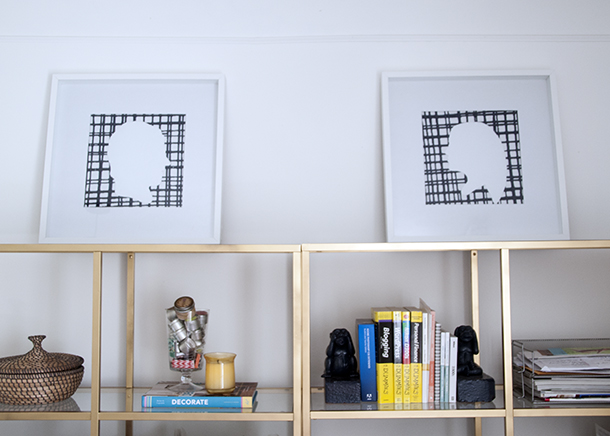 patterned office art