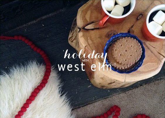 holiday with west elm