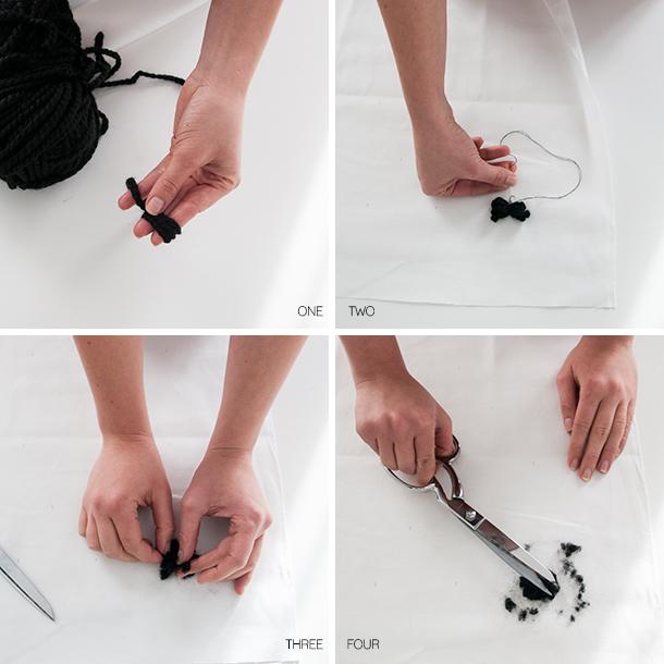 Pom fabric tutorial