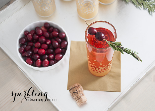 holiday cocktail recipe cranberry
