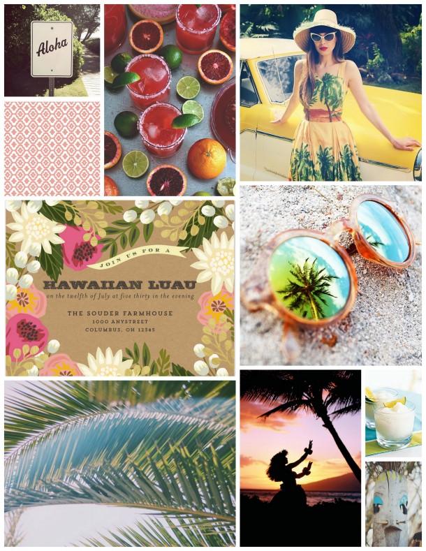 aloha luau party planning