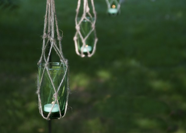 handmade outdoor lantern