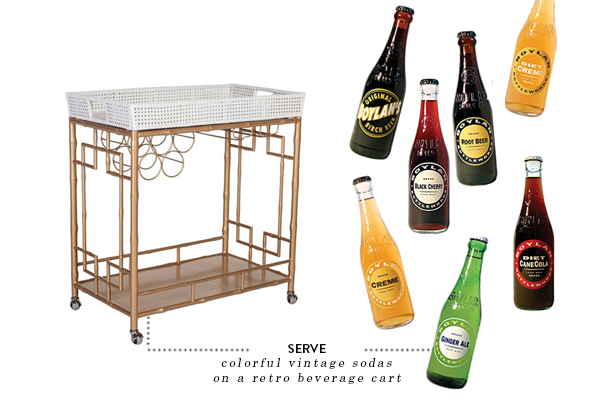 serve - bar cart