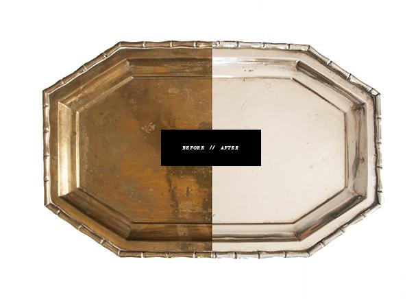 brass tray flea market