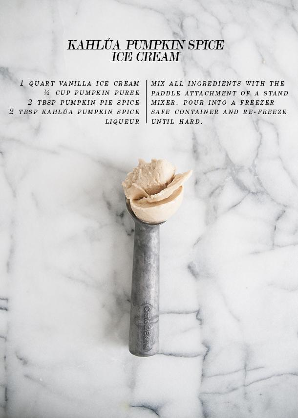 Coffee Ice Cream By Season With Spice Recipes — Dishmaps