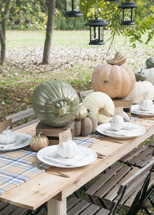 harvest table diy