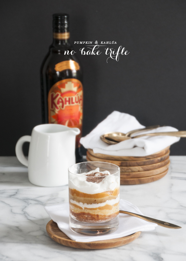 kahlua trifle