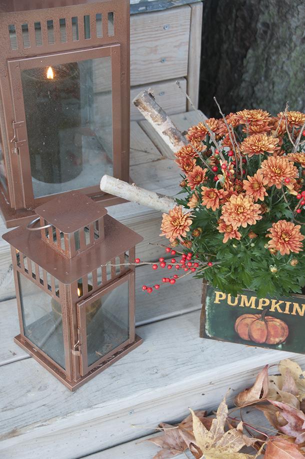 copper lantern repaint
