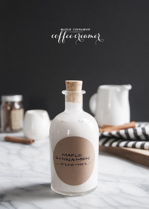 maple cinnamon coffee creamer